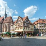 Schmalkalden: Das 19.000-Einwohner-Städtchen ist eine Stadt im fränkisch geprägten Süden des Freistaats Thüringen. Die Altstadt mit ihren Fachwerkhäusern am Altmarkt ist äußerst sehenswert. – Foto: Nestler