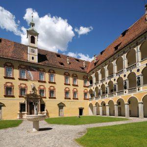 Einfach nur prächtig: Die fürstbischöfliche Hofburg.
