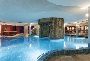Der Wellnessbereich lässt keine Wünsche offen. - Foto: Krumers Alpin Resort & SPA
