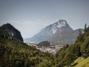 : Blick auf Kufstein und den Pentling, den Hausberg der Stadt. - Foto: TVB Kufsteinerland