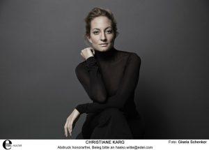Christiane Karg ist regelmäßiger Gast in den Hochburgen des Liedgesangs. Foto: © Gisela Schenker