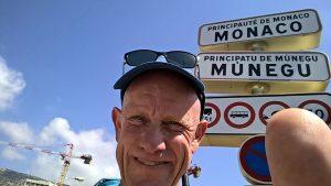 Ankunft in Monaco.