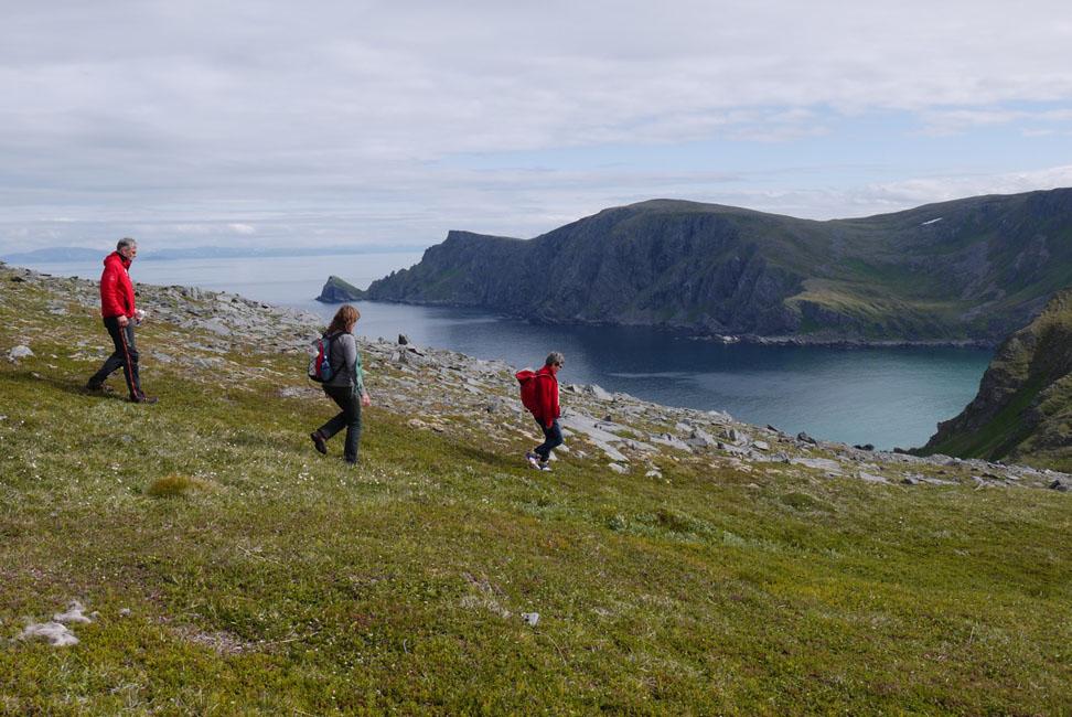 Nord-Norwegen ist durchaus reizvoll und lädt zur einen oder anderen Wanderung ein.