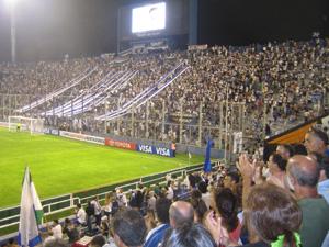 Die Heimat von Velez Sarsfield: das Stadion Jose Amalfitani.
