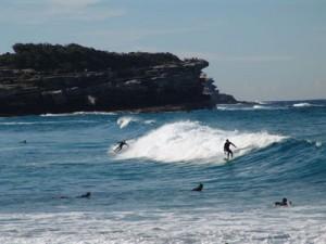Surfen ist für viele Menschen in Australien ein Lebensgefühl. Foto: Kathrin Schierl