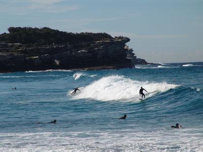 Aussies surfen zwar gerne, aber nicht ausschließlich.