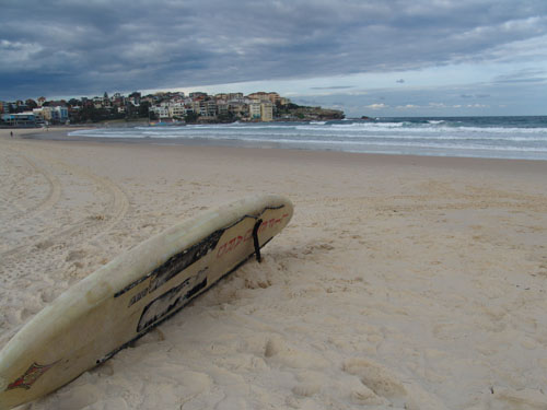 Bondi Beach im australischen Winter.