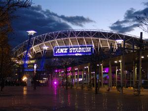 Sydneys Olympiastadion.
