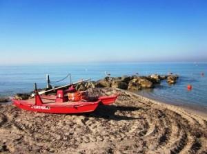 Traumhafte Stimmung am Ionischen Strand, Foto: Heiner Sieger