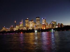 Die MS Columbus startet in Sydney. Foto: Kathrin Schierl
