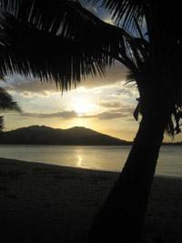So verabschieden sich die Fidschi-Inseln.