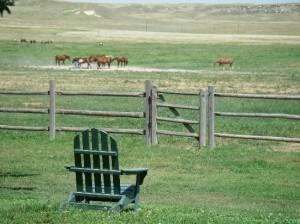 Cowboy-Idylle auf der Colorado Cattle Company.