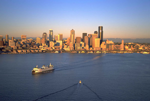 Die Skyline von Seattle. Foto: Tim Thompson