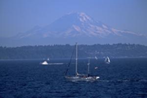 Der Mount Rainier gilt als einer der gefährlichsten Vulkane der Welt. Foto: Tim Thompson