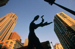 Kunst im öffentlichen Raum spielt in Seattle eine wichtige Rolle. Foto: Tim Thompson