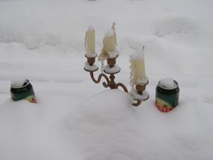Dose leer, Kerzen aus - Norweger haben fertig.