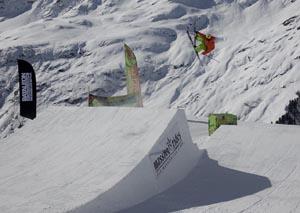 """Der """"O'Neill Kirschbaum Battle 2012"""" findet am 17. und 18. März am Rendl in St. Anton am Arlberg statt. Foto: www.simon-vanhal.com"""