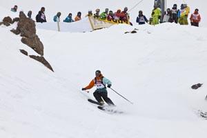Vom 1. bis 3. März findet am Pitztaler Gletscher das dritte Pitztal Wild Face-Freeride-Extrem-Rennen statt. - Foto: Daniel Zangerl