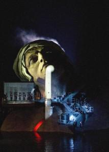 Bühnenbild von André Chenier, Opernfestspiele Bregenz; Bregenzer Festspiele / Karl Forster