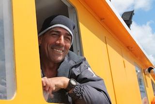 Kapitän Vitor Miguel do Sacramento Lima von der Estrella do Rio, Foto: Heiner Sieger