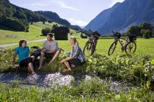 Mit dem Bike durch die Ferienregion TirolWest: Mal Genuss, mal Strapaze. - Foto: Daniel Zangerl