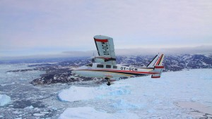 Grönland von oben mit Air Zafari. Foto: Air Zafari