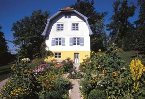 Das Münterhaus beherbergt fazinierende Werke von Münter und Kandinsky.
