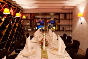 Private Dining im Hotel Alpenhof. Foto: Alpenhof