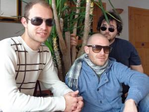 Die Lords of Backpacking - Ben, Markus und Jakob (v.l.).