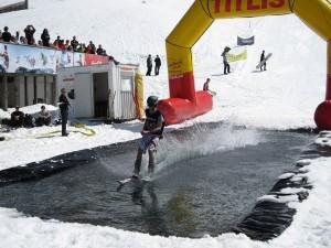 Der Waterslide Contest in Engelberg ist ein großes Spektakel. - Foto: Engelberg-Titlis