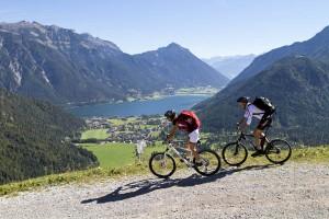 Auch Mountainbikefahrer kommen voll auf ihre Kosten.