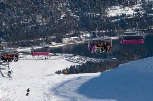 Christlum: Auch im Winter kommen die Urlaubsgäste gern. Das Skigebiet Christlum ist zwar klein, dafür aber fein.