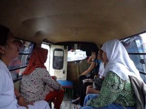 Unterwegs in Indonesien.