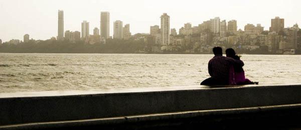 Der Marine Drive liegt im Süden von Mumbai.