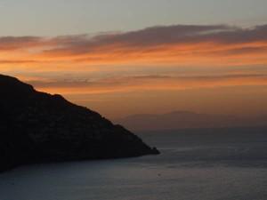 Morgenstimmung an der amalfitanischen Küste.