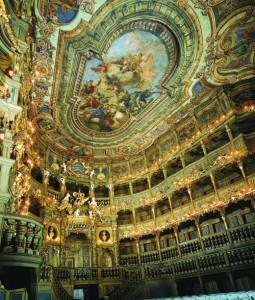 Das Markgräfliche Opernhaus gilt als das schönste und größte erhaltene Barocktheater Europas. - Foto: Marketing & Tourismus GmbH Bayreuth