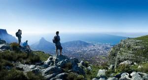Traumhafter Blick vom Tafelberg auf Kapstadt. Foto: www.dein-suedafrika.de