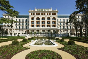 Ein grandioser Prachtbau – das Palace Hotel Portoroz