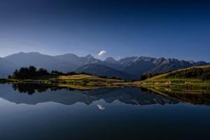 Mit dem Wolfsee eröffnet Serfaus-Fiss-Ladis in Tirol eine neue Erlebniswelt für Familien. - Foto: Andreas Kirschner