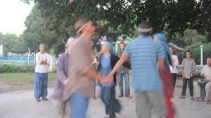 Die traditionellen Tänze der  Zwölf Stämme – ekstatisch und wild. Foto: Nora von Breitenbach