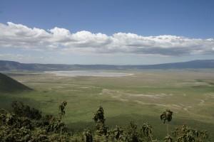 Blick in den Ngorongoro: Paradies auf Erden für Grzimek, nicht nur für ihn. Foto: Kathrin Schierl