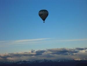Über den Wolken muss die Freiheit wohl grenzenlos sein...