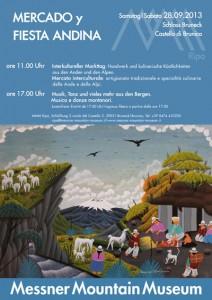Im Schloss zu Bruneck findet am 28. September ein großes, buntes Fest statt. - Foto: Mountain Messner Museum