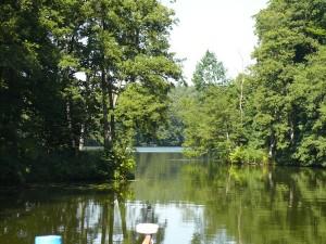 Der Templiner See liegt in einem eiszeitlichen Becken und ist im Grunde eine Verbreiterung der Havel.