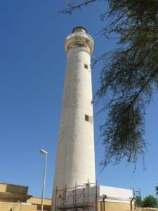 Der Leuchtturm von Punta Secca.