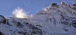 Beeindruckende Bergwelt.