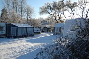 Wintercamping wird in Dänemark immer populärer und entsprechend steigt die Zahl der Ganzjahresplätze.- Foto: Ribe Camping