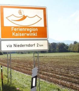 Wer in der Kaiserwinkl will, der kann getrost auf die Vignette verzichten, wenn er frühzeitg die Autobahn verlässt. - Foto: Tourismusverband Kaiserwinkl