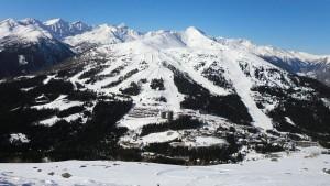 Mit 70 Pistenkilometern ist das Skigebiet Katschberg-Aineck das größte der Region. - Foto: Dieter Warnick