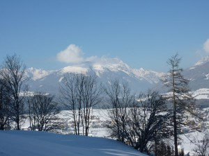 Der Lungau - ein wahrhaftes Wintermärchen. - Foto: Andrea Moser-Dengg